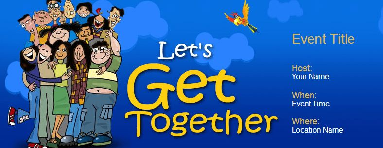 Get together Online Invitations Archives | Yoovite