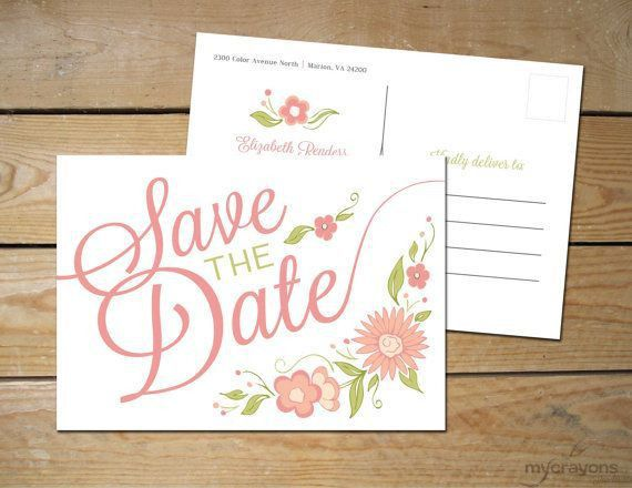 29 best Save the Date images on Pinterest | Wedding save the dates ...