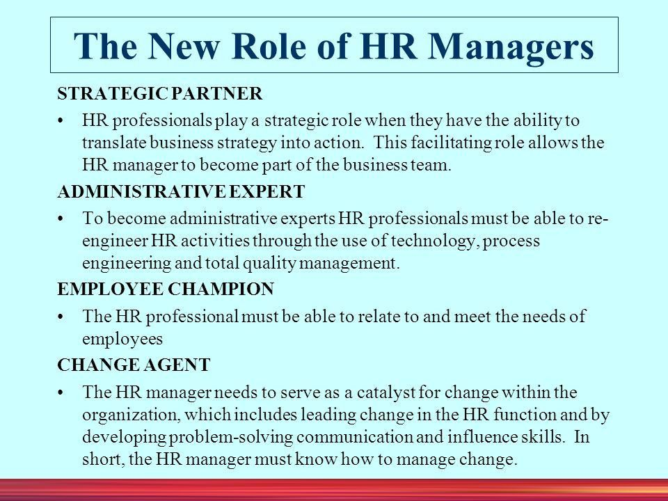 HUMAN RESOURCE MANAGEMENT Chapter 1 - ppt download