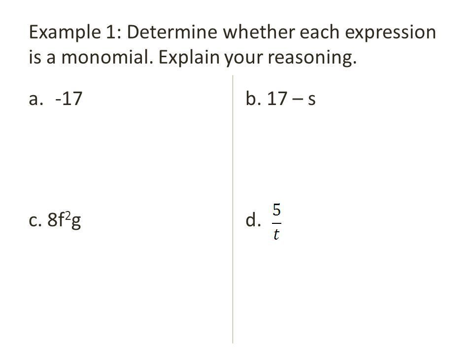 7.1 Multiplying Monomials - ppt download