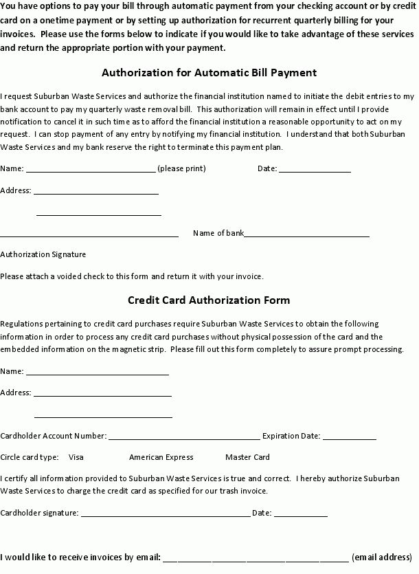 Payment Authorization Form.ACH Auth Form One Time Payment.jpg ...