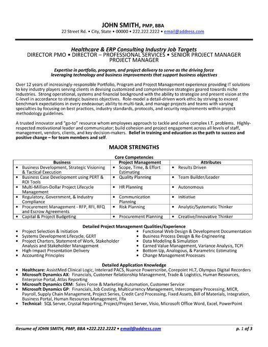 professional resume templates streamlined resume template career ...