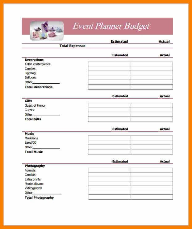 10+ simple budget template | monthly budget forms