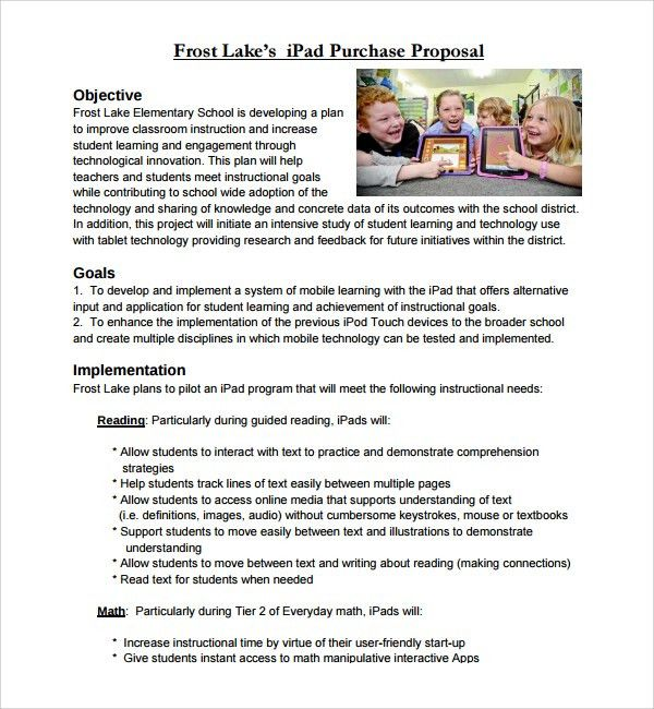 Sample Purchase Proposal Template - 9+ Free Documents in PDF, Word