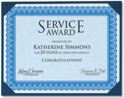 Formal Blue Standard Certificates | PaperDirect Blog