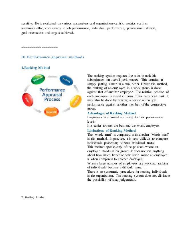 Free performance appraisal templates