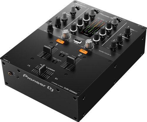 Pioneer DJ DJM-250 MK2 2 channel DJ Mixer - Midwest Pro Sound and ...
