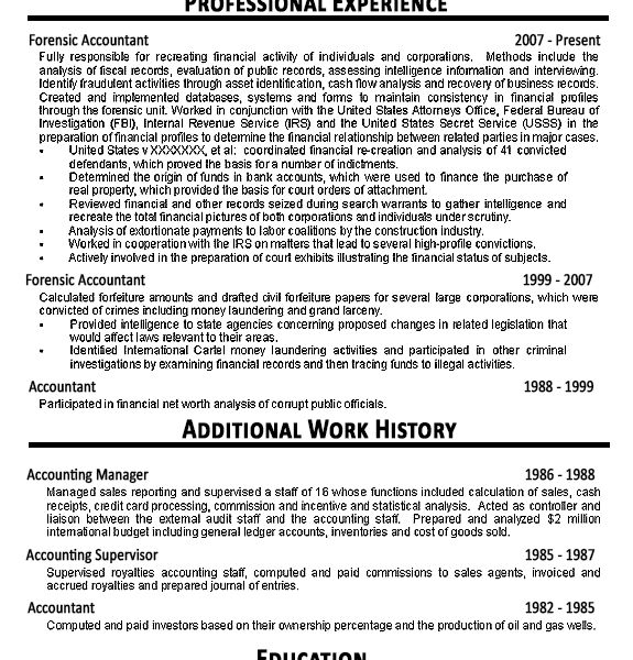 Amazing Design Ideas Cpa Resume 11 Accountant Resume Example ...