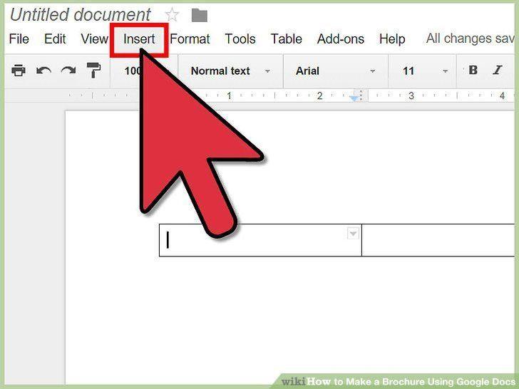 Google Doc Brochure Template | Template Design