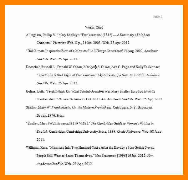 10+ works cited list example | resumes great