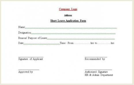 Short Leave Application Form | Freelance front-end developer & web ...