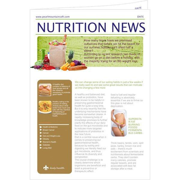 Newsletter Templates & Samples | Newsletter Publishing Software ...