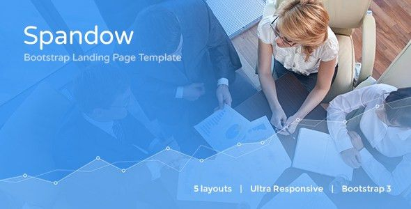Spandow - Responsive Bootstrap Landing Page Template by ...