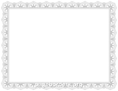 Silver Certificate Border | Stuff to Buy | Pinterest | Silver ...
