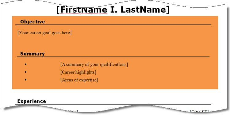 Resume Writing: Objectives, Summaries, or Professional Profiles ...