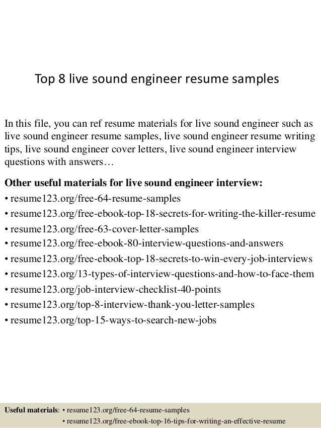 Resume Live