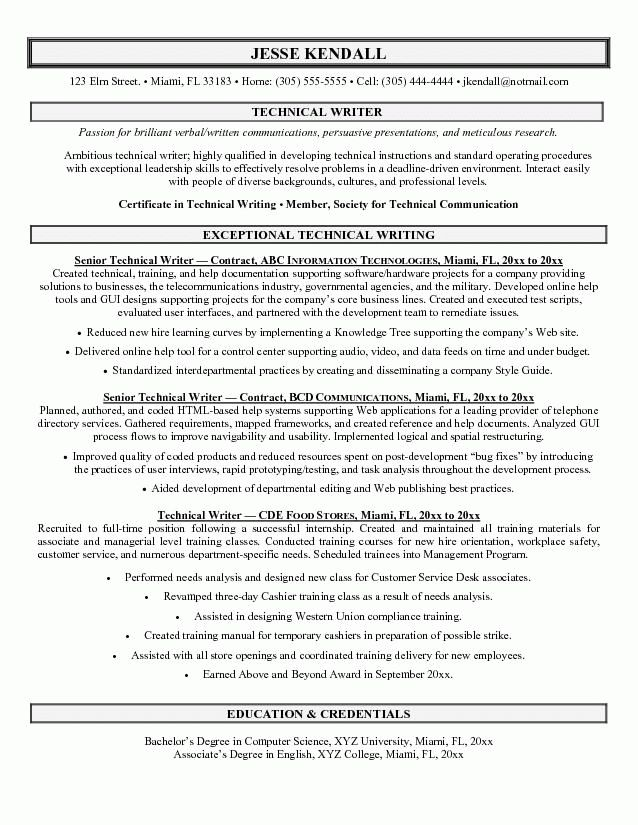 writing resume sample writer resume example resumecompanioncom ...