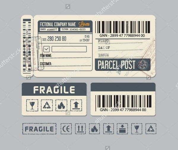 Shipping Label Templates - 20+ Free PSD, AI, EPS, Vector Format ...