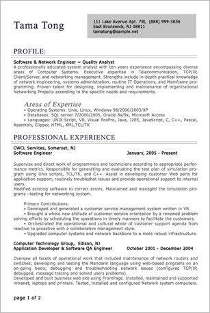 sample canadian resume resume cv cover letter. resume samples ...