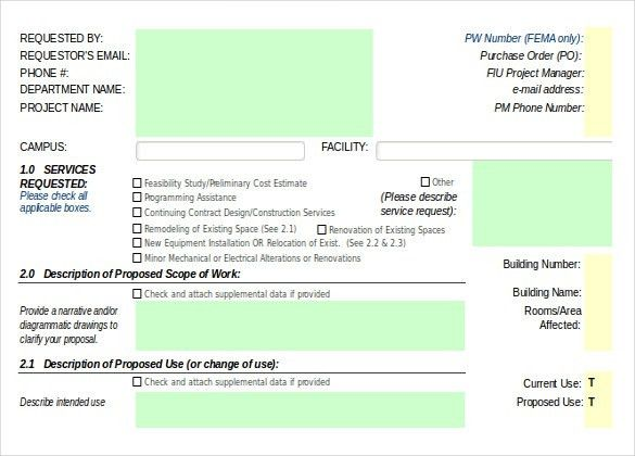 Construction Order Template – 10+ Free Excel, PDF Documents ...
