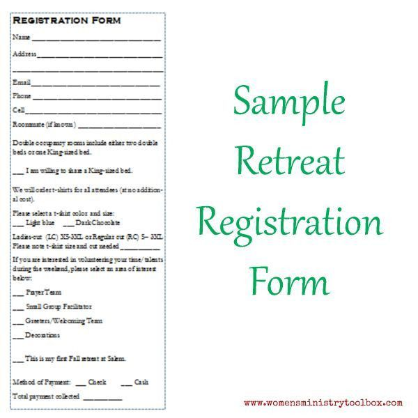 Best 25+ Registration form sample ideas only on Pinterest ...