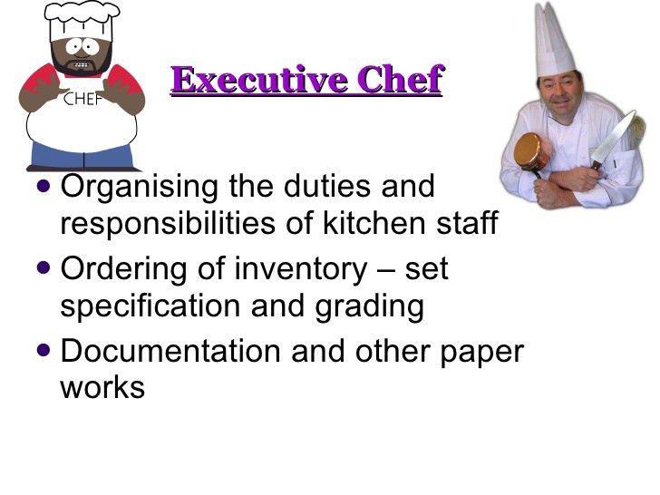 Culinary art...kitchen operation