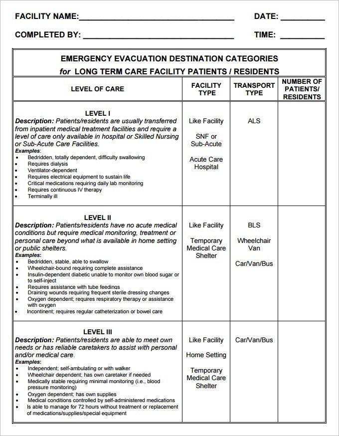 9+ Home Evacuation Plan Templates - Free PDF Documents Download ...