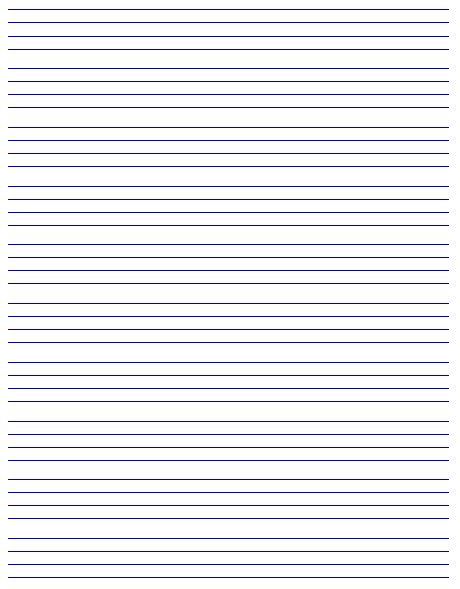 Best Photos of Printable Lined Writing Paper Template - Printable ...