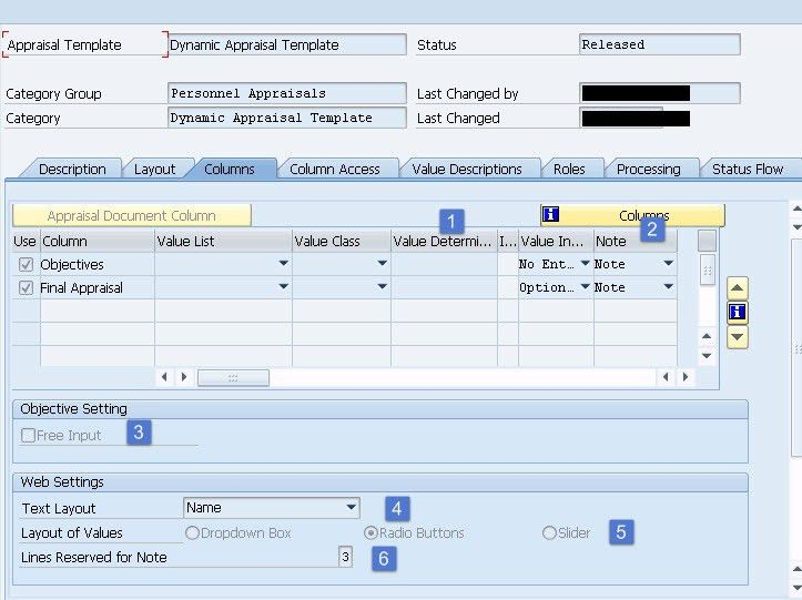 Objective Setting and Appraisals : Appraisal Template ...