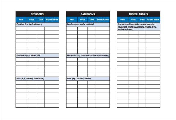 Checklist Template – 22+ Free Word, Excel, PDF Documents Download ...