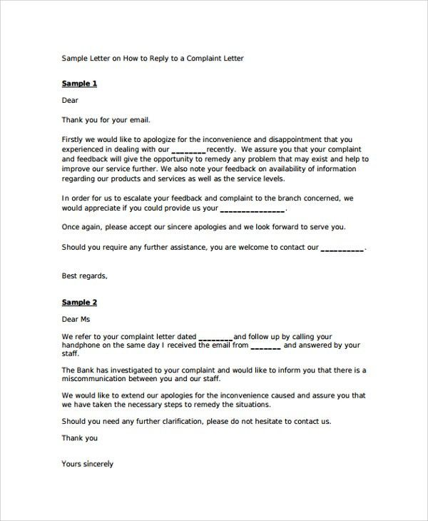 Sample Apology Letter - 20+ Documents in PDF, Word