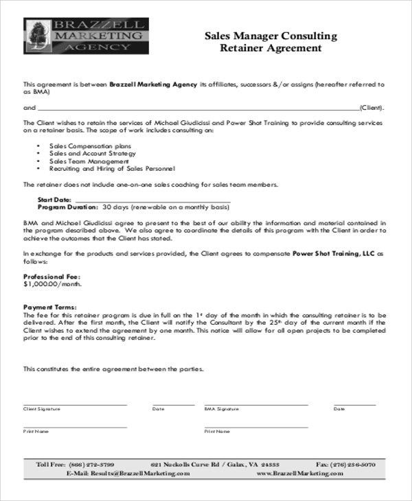 Consulting Contract Templates. Sample Non Disclosure Agreement .