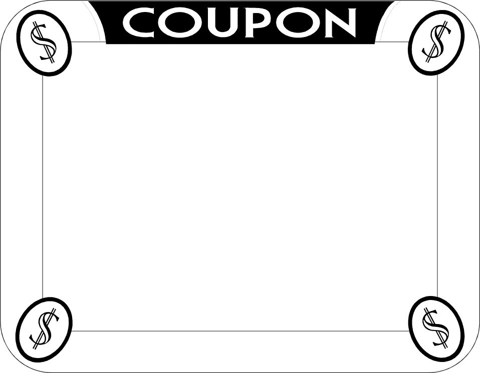 Coupon | Free Stock Photo | Illustration of a blank coupon | # 3152