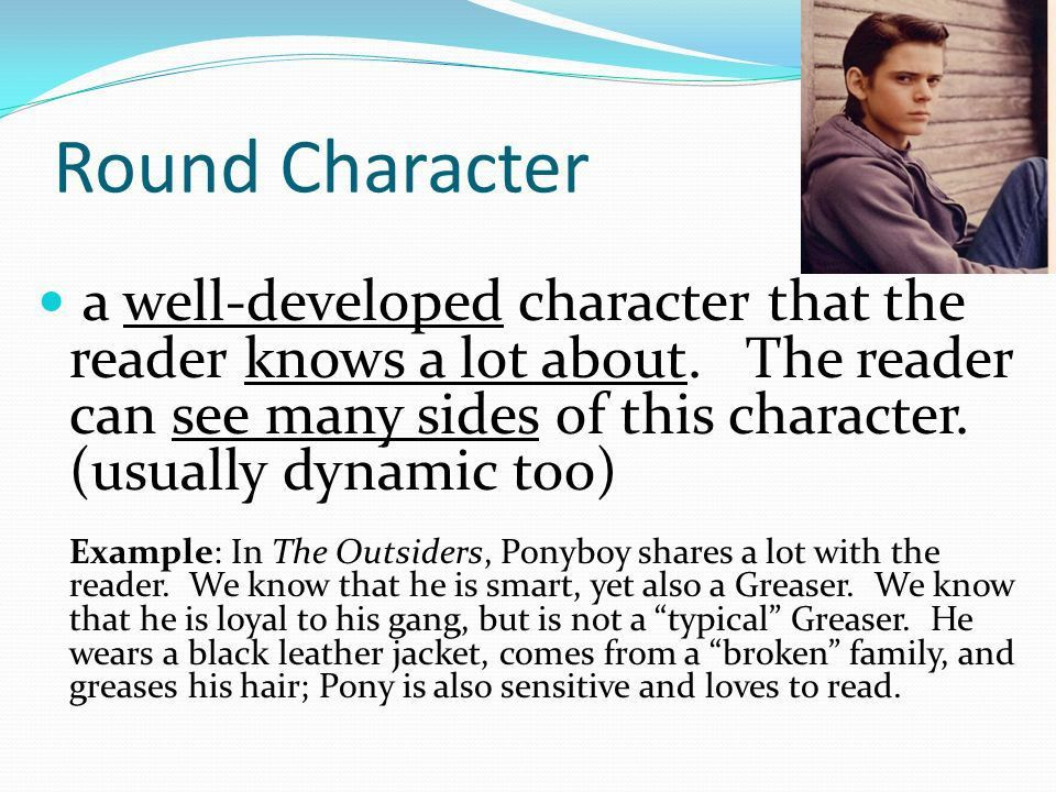Characterization The description of character traits and how ...