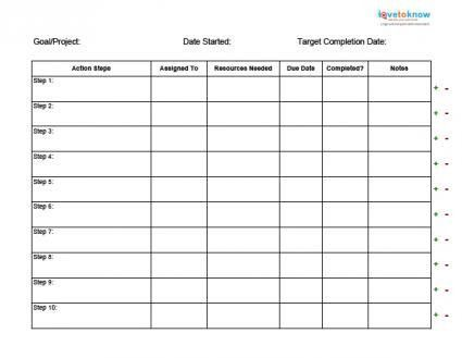 Sample Smart Action Plan. Free Team Action Plan Template: Download ...