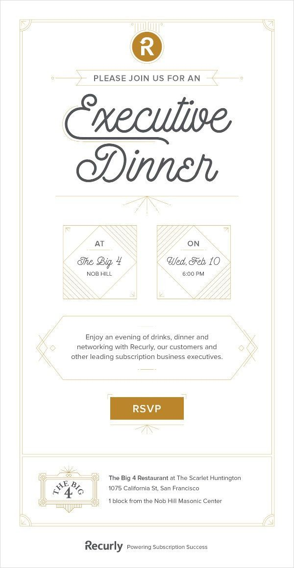 23+ Examples of Business Invitations