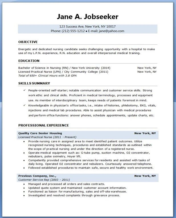 Download Sample Nursing Student Resume | haadyaooverbayresort.com
