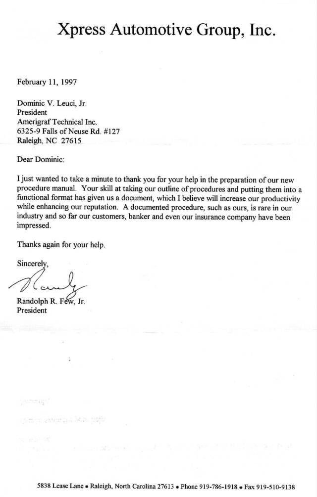 Recommendation Letter Format. The Most Common Type Of Letter Of ...