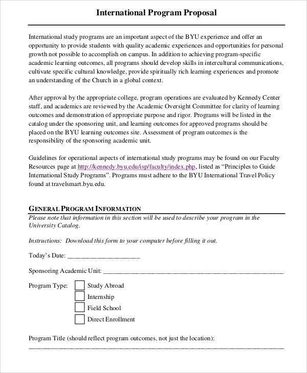 37+ Proposal Templates in PDF | Free & Premium Templates