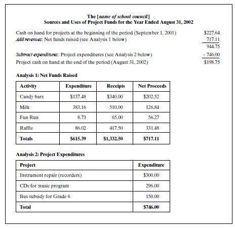 Examples Of Financial Reports Financial Statement Analysis For – Annual Financial Report Sample