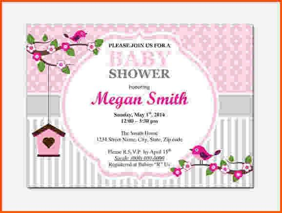 Best Collection of Free Baby Shower Invitation Templates Microsoft ...