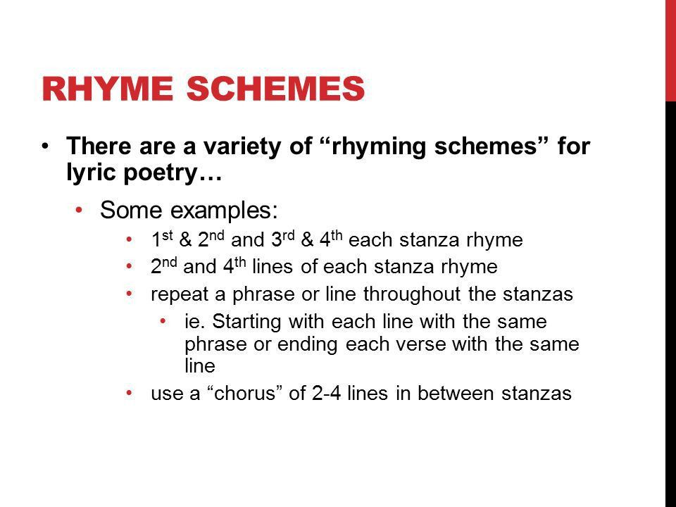 Poetry Unit Form and Structure Diction and Word Choice Sound ...