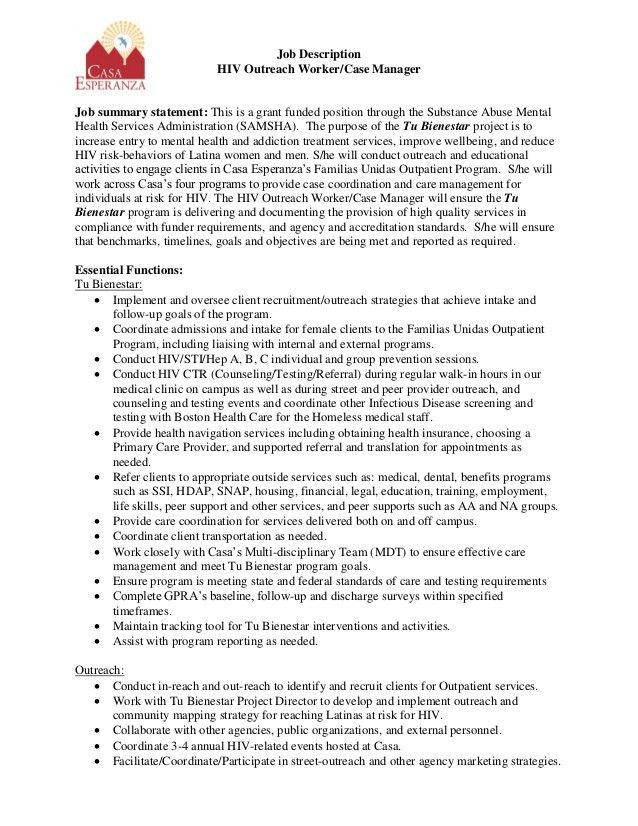 outreach worker resume professional community outreach worker