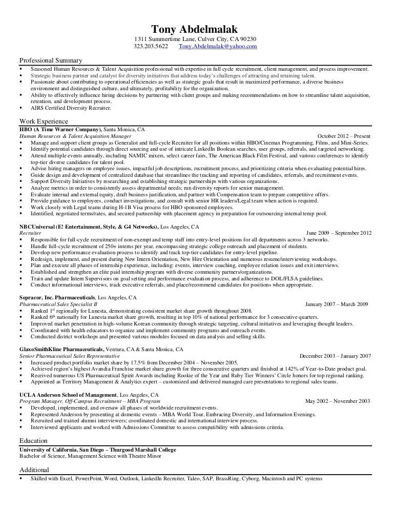 Police Promotion Resume Examples - Contegri.com