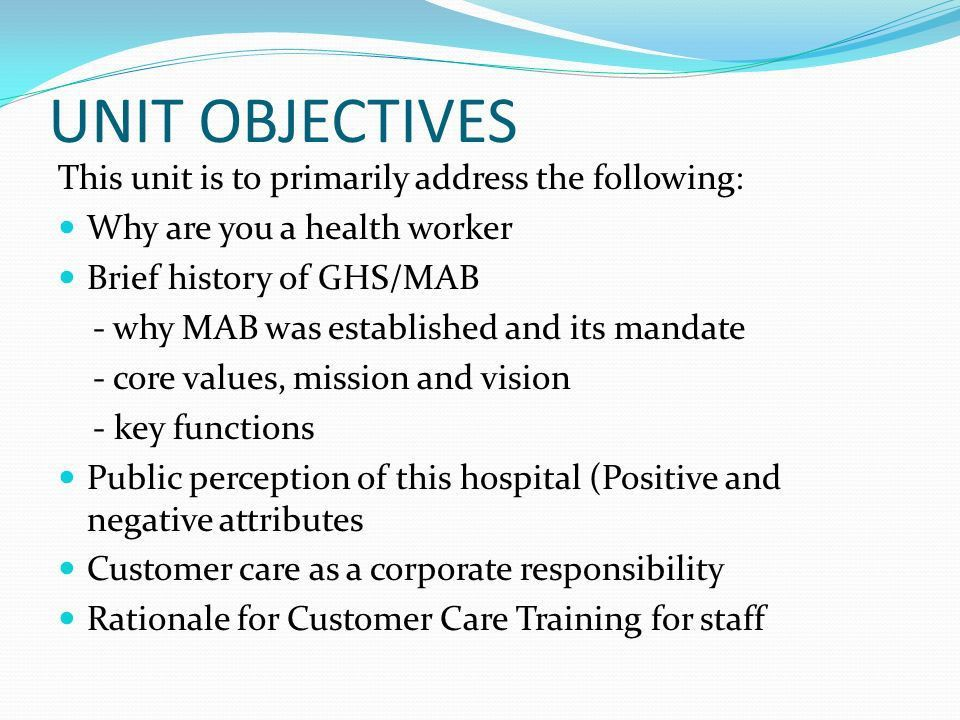 GHANA HEALTH SERVICE CUSTOMER CARE TRAINING - ppt video online ...