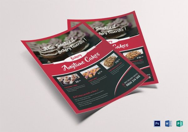 18+ Bakery Flyer Templates - Free PSD, AI, EPS Format Download ...