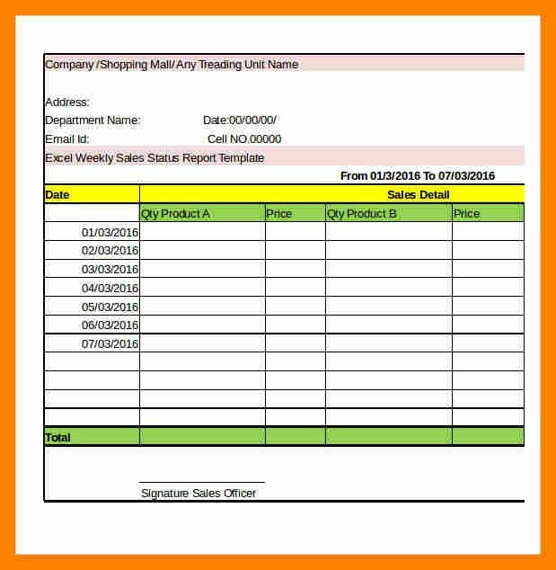 Sample Weekly Report. Weekly Project Progress Report Template Word ...