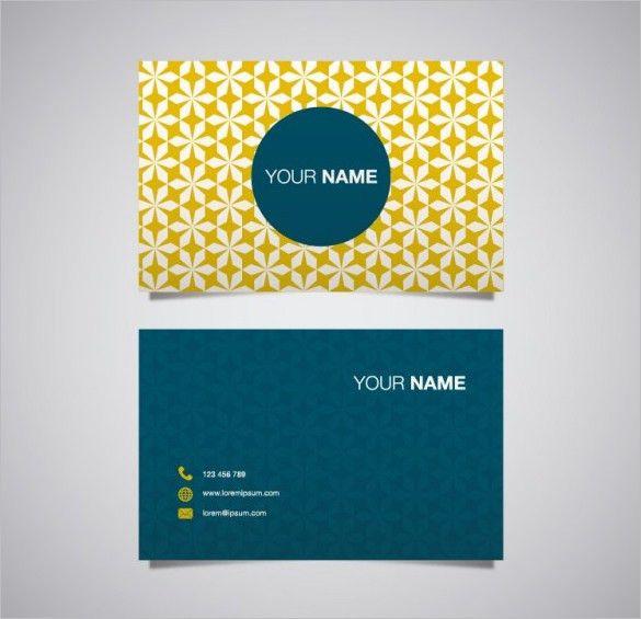 Name Card Templates – 18+ Free Printable Word, PDF, PSD, EPS ...