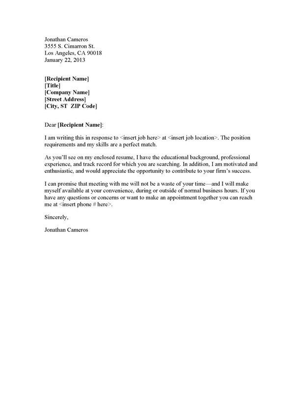 Cover Letters Scribe Professional Writing within Portfolio Cover ...