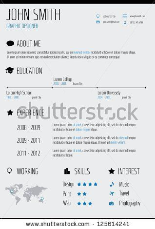 Resume Icon Stock Images, Royalty-Free Images & Vectors | Shutterstock